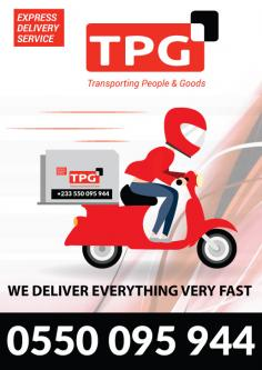 TPG Express Delivery, Accra, Ghana